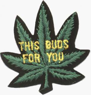 On Patch (Marijuana / Hemp / Weed / Dope / Grass / Stoner) Clothing
