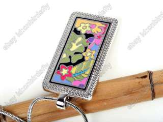 NEW Premier Designs Color abroad hand painted enamel Pendant Free Xmas