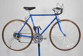Special 10 Speed Road Bike Bicycle 52cm Blue Shimano lugged steel