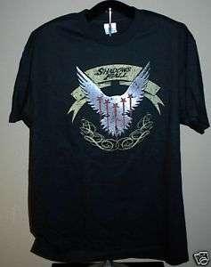 SHADOWS FALL Bird Crest Large T Shirt NEW