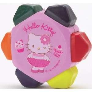 Hello Kitty Pink Tutu   6 in 1 Crayon