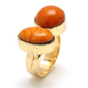 Amrita Singh Shelter Island Ring (Honey Gold): Amrita