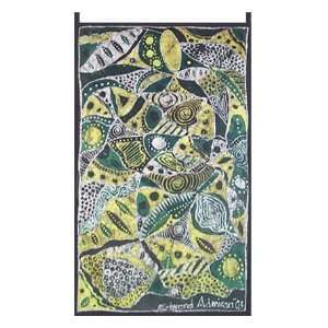 Batik wall hanging, Oracle Woman  Home & Kitchen