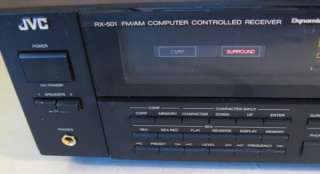 JVC RX 501 Surround Receiver / Amplifier / Tuner   65 watts