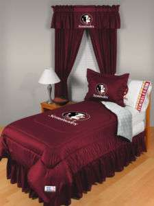 FSU FLORIDA STATE SEMINOLES COMFORTER BEDDING BED SET