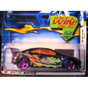 Mattel Hot Wheels 2002 164 Scale First Editions Black Custom Cougar
