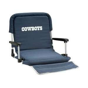Dallas Cowboys Nfl Deluxe Folding Conversation Arm Chair