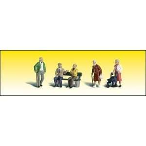 Woodland Scenics A2201 N Scale Senior Citizens: Toys & Games