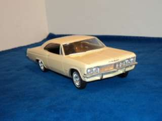 Vintage AMT 1965 Chevy Impala SS 409 2 Door HT 1/25 Scale Built Model
