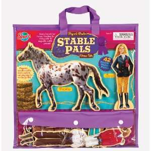 Stable Pals Wooden Creative Dress Up Doll, Horse and
