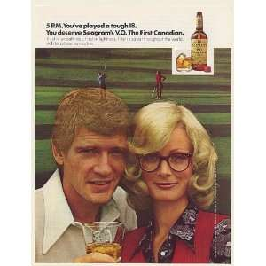 18 Seagrams V.O. Canadian Whisky Print Ad (53892)
