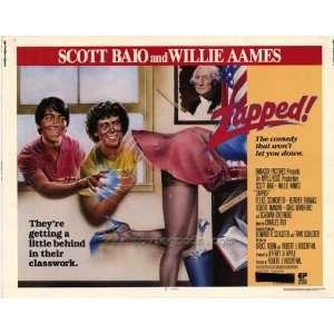 Zapped Poster Half Sheet 22x28 Scott Baio Willie Aames