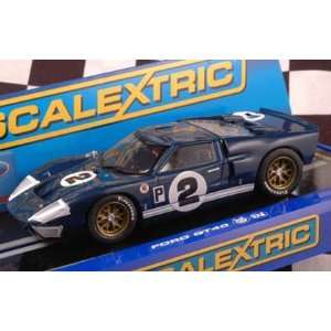 1/32 Scalextric Analog Slot Cars   Ford GT40 MKII Dan