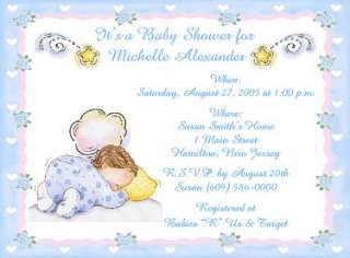 10 Darling Baby Boy Designs Personalized Baby Shower Invitations w