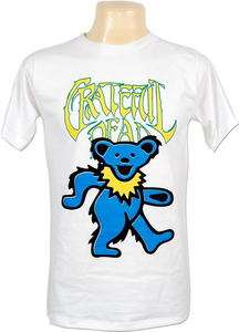 Grateful Dead Dancing Bear Rock Vtg Retro T Shirt Sz L