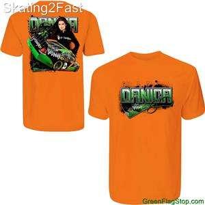 Danica Patrick Go Daddy Shirt Jr. Motorsports Nascar