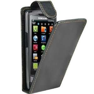 Leather Flip Case Cover for Samsung Wave S8500 Electronics