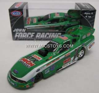 2011 John Force Castrol GTX High Mileage Funny Car NHRA Pitstop 1:64