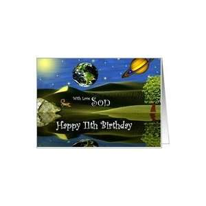 Birthday ~ Son / Age Specific 11th ~ Planet Taro Card: Toys & Games