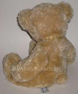 RUSS MOOCH 20827 Plush Tan Golden Brown TEDDY BEAR Stuffed Animal Toy