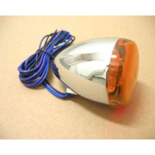 Rear Deuce Style Amber Turn Signal Light for Harley