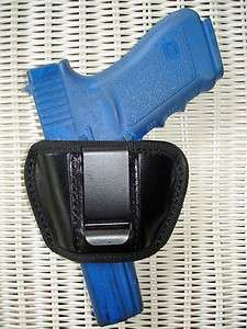 LEATHER BELT SLIDE & IWB HOLSTER 4 RUGER LC9 LC 9
