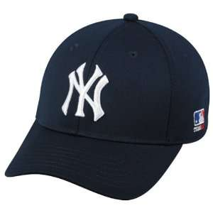 MLB BAMBOO Flex FITTED Sm/Med New York YANKEES Home NAVY