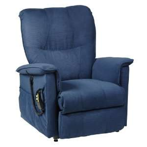 MOD7 3 Position Electric Motorized Lift and Recline Chair, Lake Blue