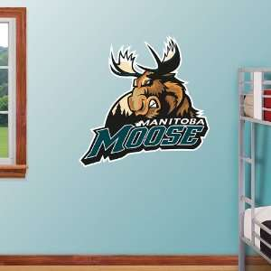 AHL Manitoba Moose Logo Vinyl Wall Graphic Decal Sticker