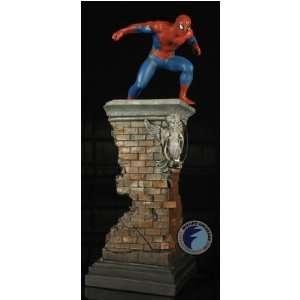 Spider Man (Building) Statue Bowen Designs Toys & Games