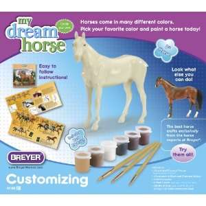 Breyer My Dream Horse Customizing Thoroughbred Toys