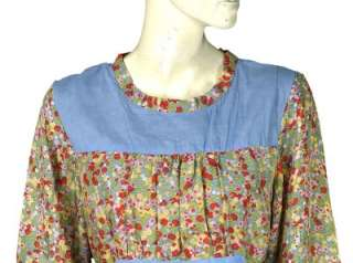NEW $98 Fei Anthropologie Floral Printed Silk Tunic Shirt Blouse Top