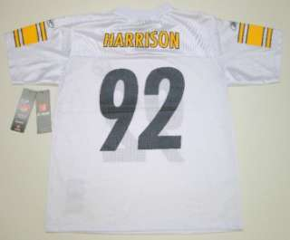 NFL Reebok Pittsburgh Steelers James Harrison Team Apparel Youth