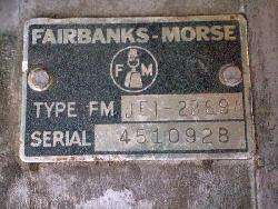 Fairbanks Morse Magnetos twin cylinder Wisconsin