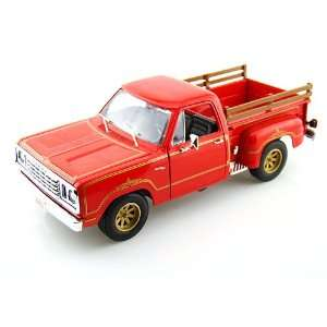 1978 Dodge Warlock Pickup Truck 1/18 Red: Toys & Games