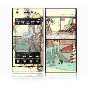 Dollie Dream House Design Decorative Skin Cover Decal Sticker for Sony