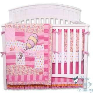 Trend Lab Dr Seuss Baby Girl Kid Crib Nursery Blanket Infant Newborn