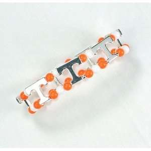 Tennessee UT Vols Double Stretch Band Logo Bracelet: Sports & Outdoors