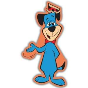 Huckleberry Hound car bumper sticker decal 3 x 6