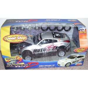 Formula D 2003 Nissan Z 118 Diecast Metal Model Kit Toys