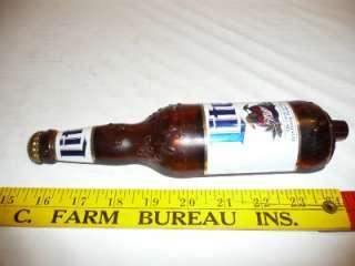 Miller Lite Beer Tap Handle Rare Bottle Draft Keg Man Cave Knob