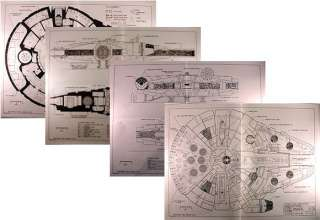 Star Wars Corellian Freighter Blueprints