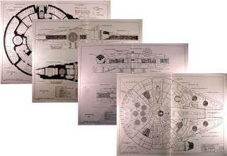 Star Wars Corellian Freighter Blueprints