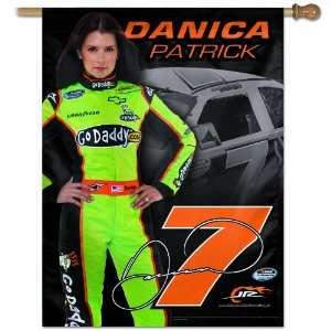 NASCAR Danica Patrick 27 by 37 inch Vertical Flag Sports