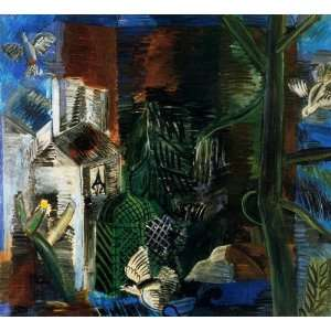 Hand Made Oil Reproduction   Raoul Dufy   32 x 30 inches