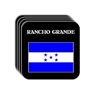 Honduras   RANCHO GRANDE Set of 4 Mini Mousepad Coasters