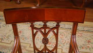 Mahogany Dining Room Chairs  Hepplewhite Dining Chairs