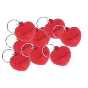 Valentines Day Red Heart Keychain Toys & Games