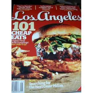 LOS ANGELES MAGAZINE May 2009 * 101 CHEAP EAS Ki Rachlis Books