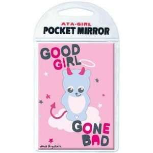 David & Goliath Good Girl Gone Bad Pocket Mirror 50647